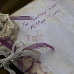 Wedding Planner - for the Blushing Bride - shabby chic vintage style - Custom